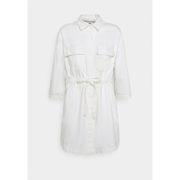 Levi's® AINSLEY UTILITY DENIM Sukienka jeansowa new ecru LE221C02H