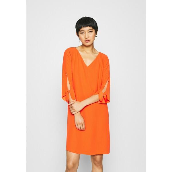 Esprit Collection DRESS Sukienka letnia red orange ES421C134