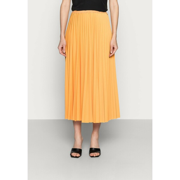 Rich & Royal PLISSEE SKIRT Spódnica plisowana golden orange RI521B01W