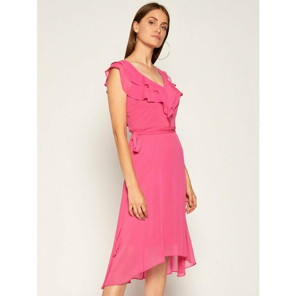 DKNY Sukienka koktajlowa DD0CI062 Różowy Regular Fit