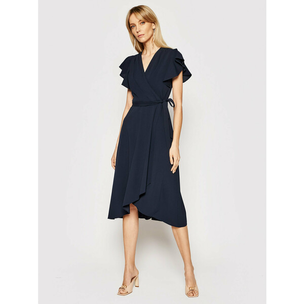 DKNY Sukienka koktajlowa DD0D1305 Granatowy Regular Fit