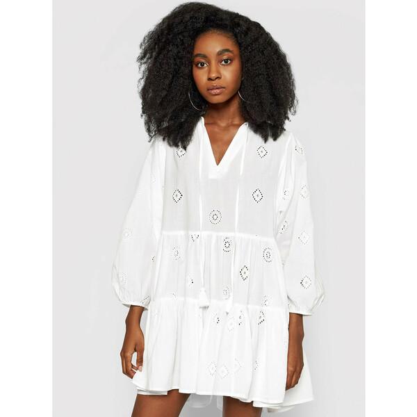 Seafolly Sukienka letnia Embroidery Biały Regular Fit