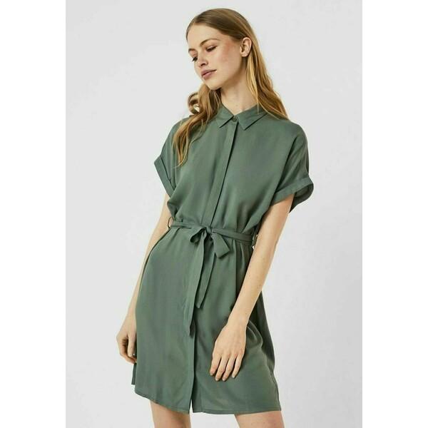 Vero Moda VMSIMPLY EASY SHIRT DRESS Sukienka koszulowa laurel wreath VE121C2OK