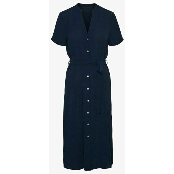 Vero Moda Sukienka koszulowa navy blazer VE121C2PL