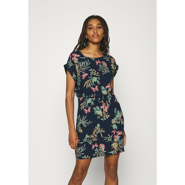 Vero Moda VMSIMPLY EASY TIE SHORT DRESS Sukienka letnia navy blazer VE121C2PQ