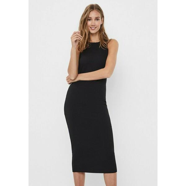 Vero Moda VMLAVENDER DRESS Długa sukienka black VE121C28D
