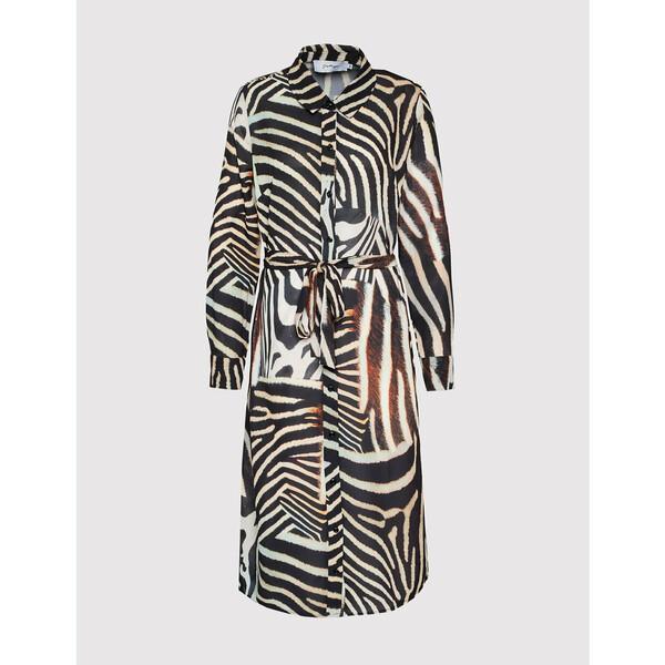 HYPE Sukienka koszulowa YWF-232 Kolorowy Regular Fit