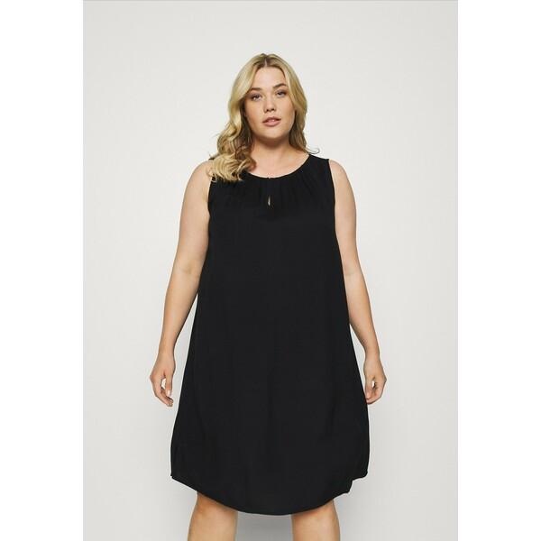 MY TRUE ME TOM TAILOR FLUENT Sukienka letnia deep black TOL21C01X