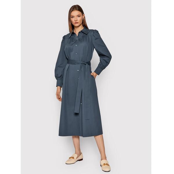 Tory Burch Sukienka koszulowa Artist 79813 Niebieski Regular Fit