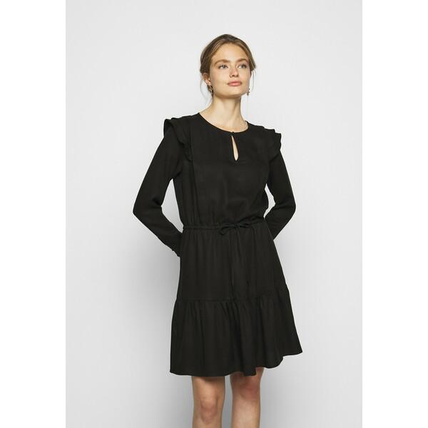 Bruuns Bazaar PRALENZA AUDREY DRESS Sukienka letnia black BR321C06K