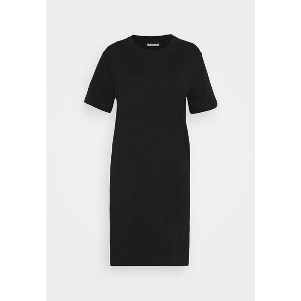 Anna Field Sukienka z dżerseju black AN621C1M4