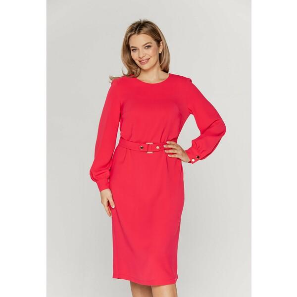 Bialcon Sukienka koktajlowa różowy B0H21C027