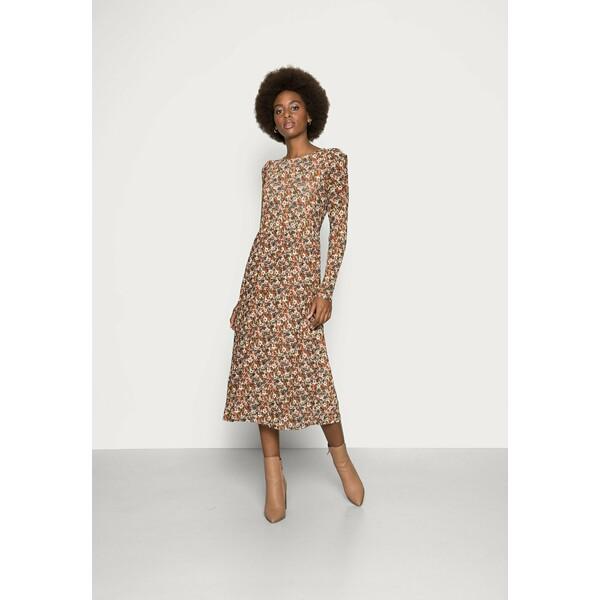Freequent Sukienka letnia brown mix F0821C065