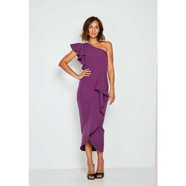 True Violet Sukienka koktajlowa purple TRD21C042