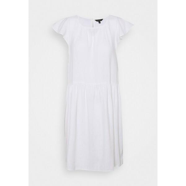 Banana Republic FLUTTER SLEEVE SHIFT DRESS Sukienka letnia white BJ721C0GG