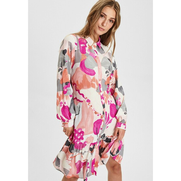Nümph Sukienka letnia rose violet NU121C0CJ