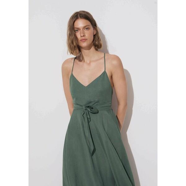 OYSHO Sukienka z dżerseju green OY121C080