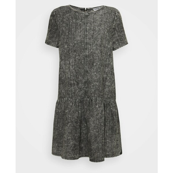 Noisy May Petite NMEMILIA DRESS Sukienka jeansowa medium grey denim NM521C031