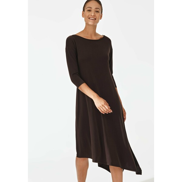 TATUUM QUENA Sukienka letnia brown TAS21C04Z
