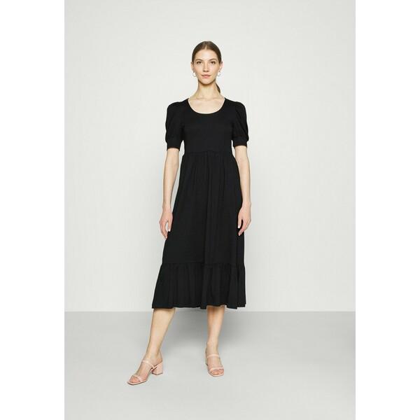 ONLY ONLMAY LIFE PUFF DRESS Długa sukienka black ON321C2CS