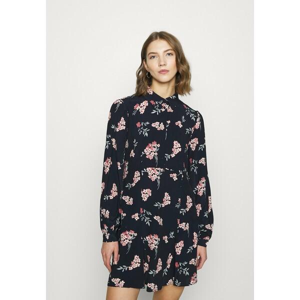 Vero Moda VMRIBINA SHORT DRESS Sukienka koszulowa navy blazer VE121C2H4