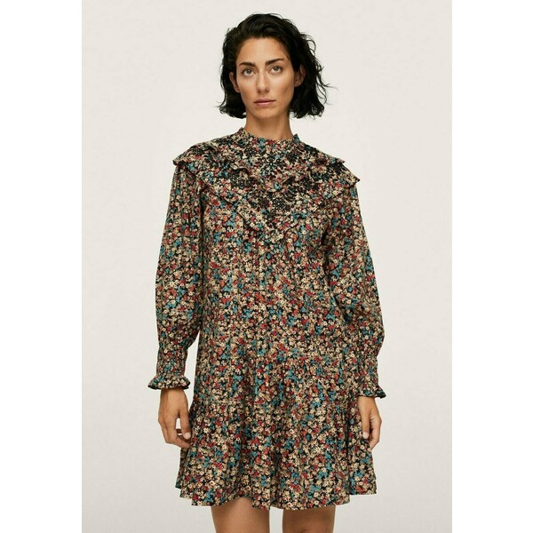 Mango Sukienka letnia brown M9121C5BP