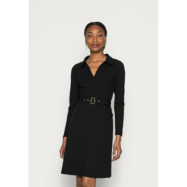 Anna Field Sukienka z dżerseju black AN621C1OX