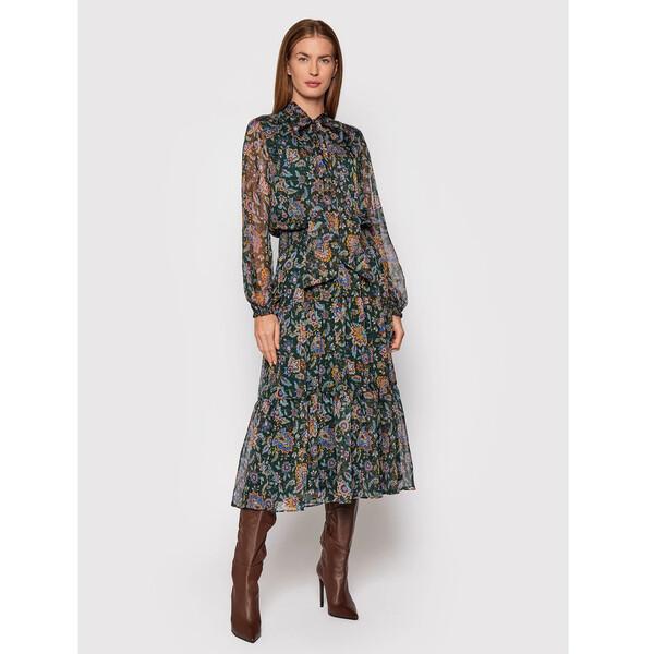 Lauren Ralph Lauren Sukienka codzienna 200807696001 Zielony Regular Fit