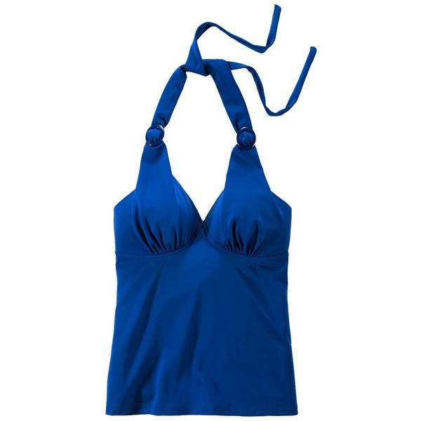 Tchibo Top od tankini wiązany na szyi, niebieski 400033081