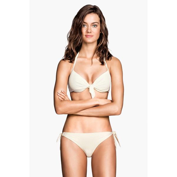 H&M Dół od kostiumu 0184123015 Biały