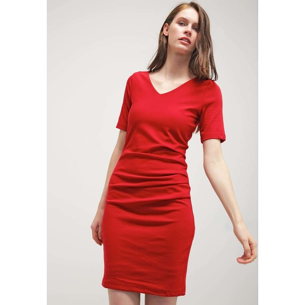 Kaffe INDIA Sukienka z dżerseju haute red KA321C065