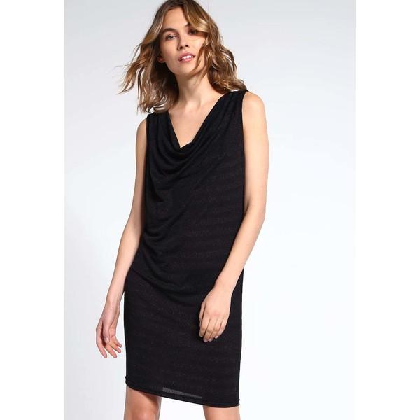 ICHI UNITED Sukienka koktajlowa black IC221C054
