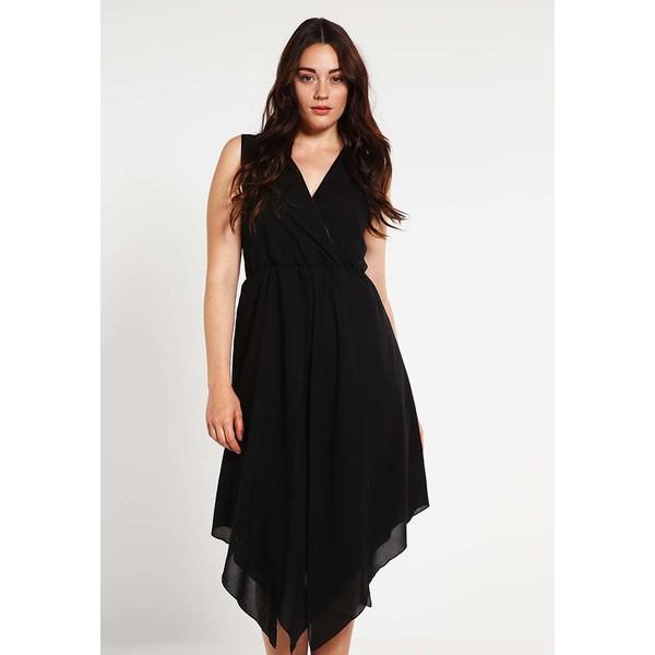 Zizzi Sukienka koktajlowa black Z1721C00V