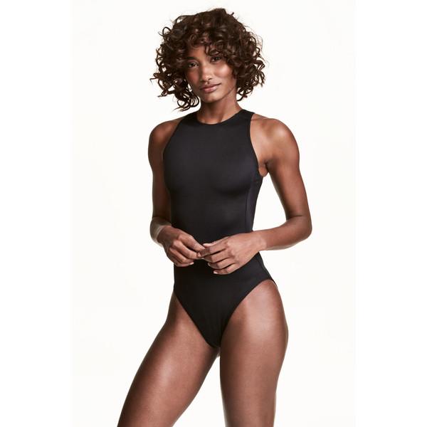 H&M Kostium kąpielowy 0451860001 Czarny