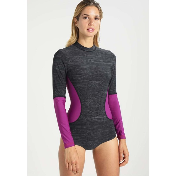 O'Neill RASH GUARD Kostium kąpielowy black ON581G000