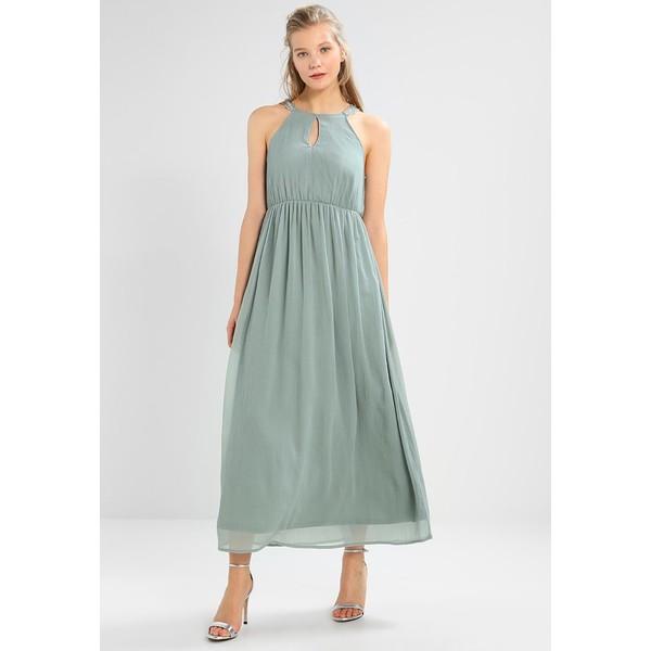 Vero Moda VMALMA BEADED ANKLE DRESS Suknia balowa chinois green VE121C1BL