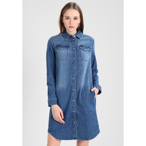 Lee Sukienka jeansowa blue denim LE421C00V