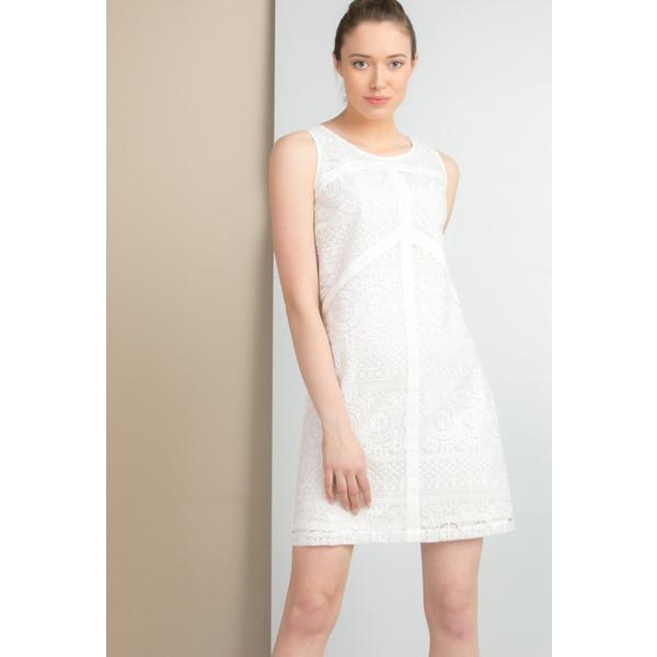 Monnari Sukienka z ażurowym panelem SUKIMP0-18L-DRE1430-K000D001-R36