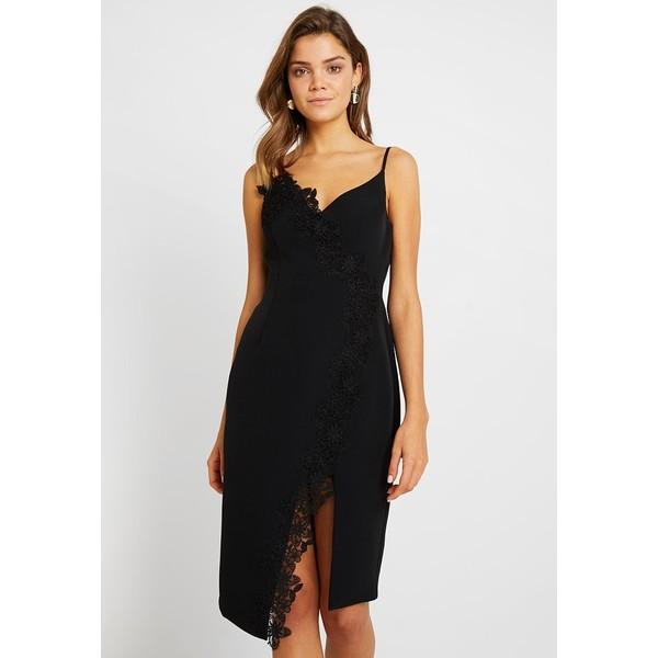 2654ee339a Forever New PANEL BODYCON Sukienka koktajlowa black FOD21C03W ...