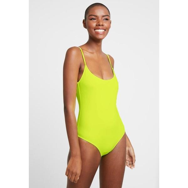 Even&Odd Kostium kąpielowy neon yellow EV481G00U
